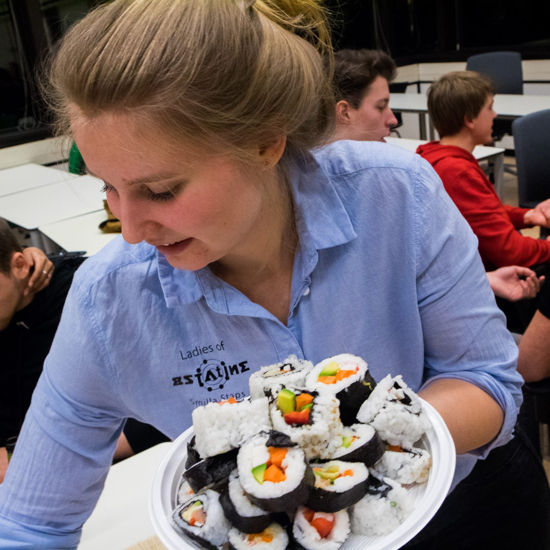 LoA & IMCo Sushi Workshop